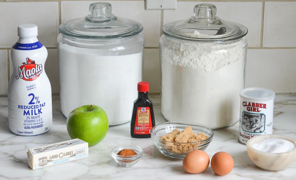 apple bread ingredients