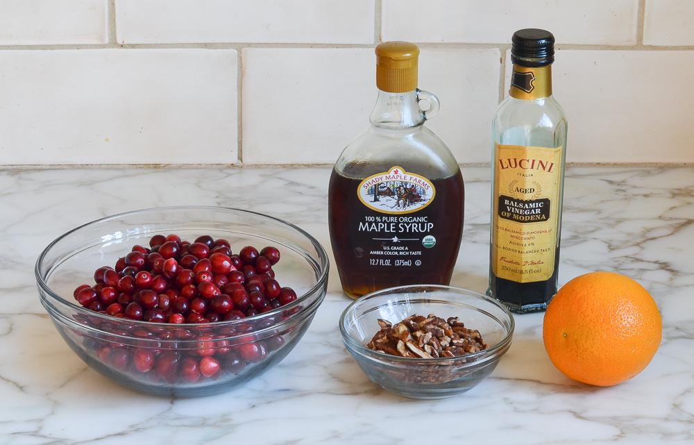 cranberry maple relish ingredients