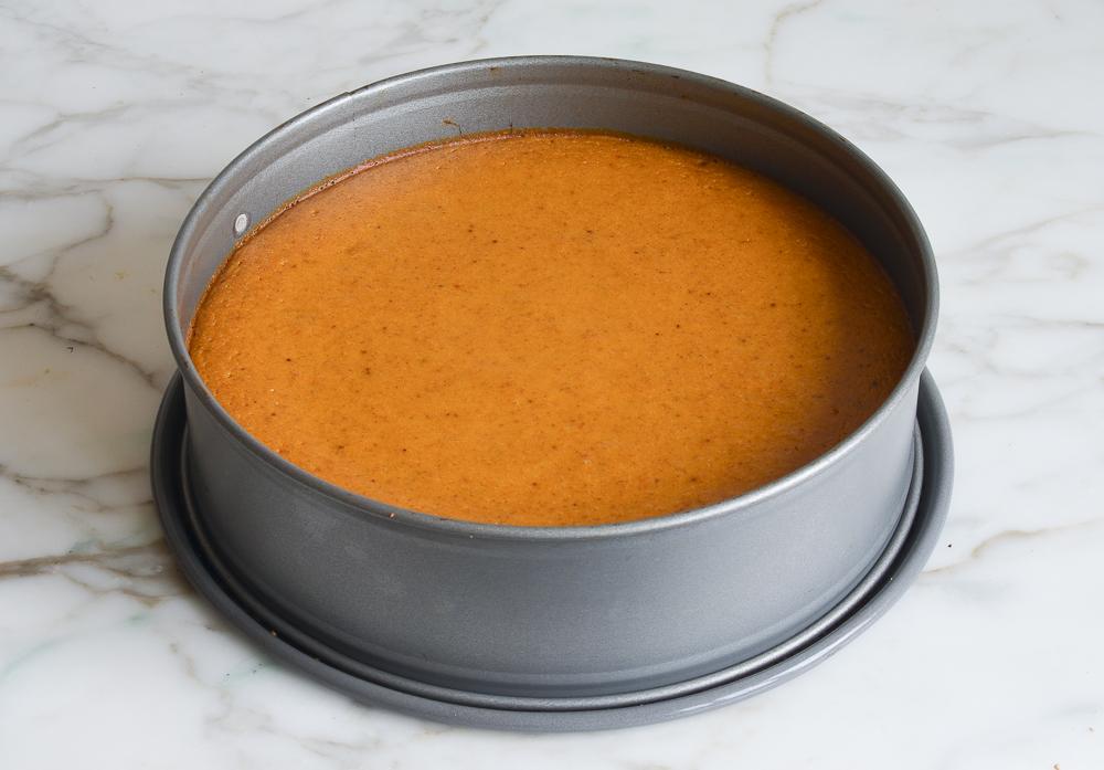 partially baked pumpkin torte