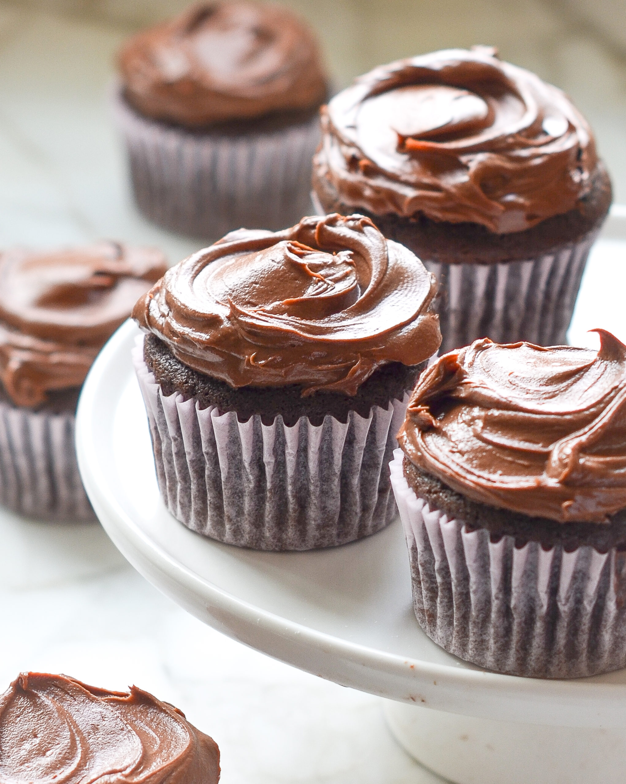 Chocolate Lover S Chocolate Cupcakes Once Upon A Chef