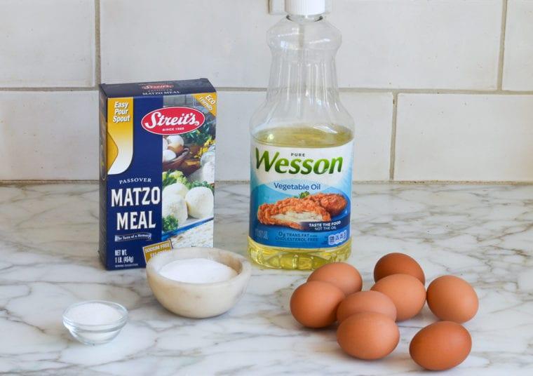 passover rolls ingredients