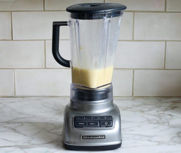 blended mixture