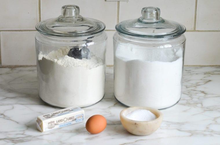 pate sucree ingredients