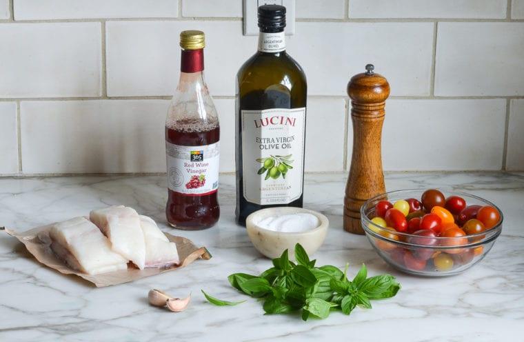 halibut ingredients