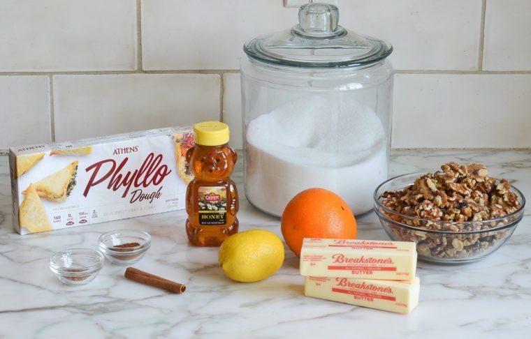 baklava ingredients